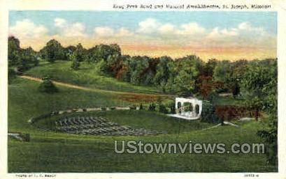 Krug Park Bowl - St. Joseph, Missouri MO Postcard