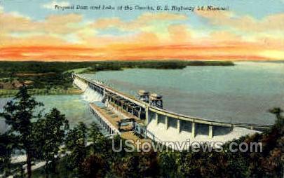 Bagnell - Lake of the Ozarks, Missouri MO Postcard