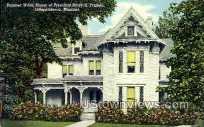 Summer White House of Truman - Independence, Missouri MO Postcard