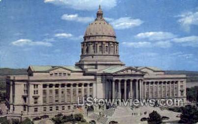 Missouri State Capitol Building - Jefferson City Postcard