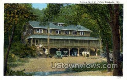 Indian Springs Lodge - Steelville, Missouri MO Postcard