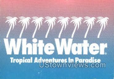 White Water - Branson, Missouri MO Postcard