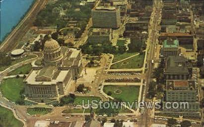 Aerial View - Jefferson City, Missouri MO Postcard