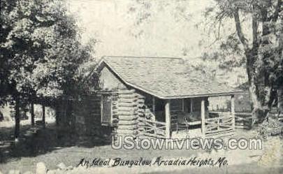 Ideal ungalow - Arcadia Heights, Missouri MO Postcard