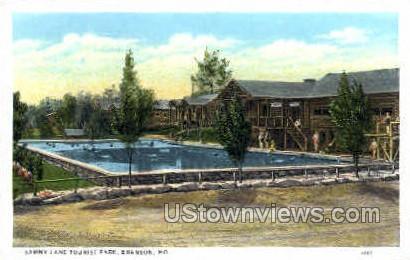 Sammy Lane Tourist Park - Branson, Missouri MO Postcard