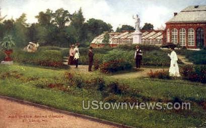 Ring Statue, Shaw's Garden - St. Louis, Missouri MO Postcard