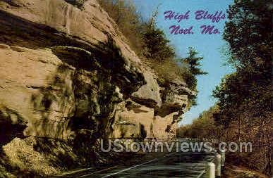 High Bluffs   - Noel, Missouri MO Postcard