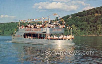 Fisherman's Dock - Branson, Missouri MO Postcard