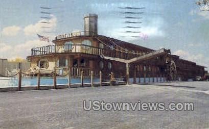 Riverboat Inn - Branson, Missouri MO Postcard