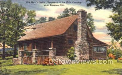 Branson, MO, Missouri Postcard