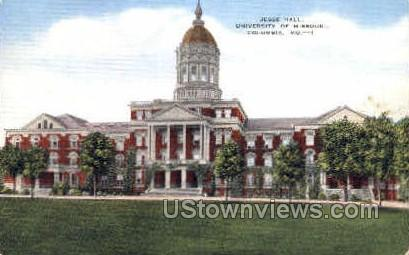 Jesse Hall, Univ. of Missouri - Columbia Postcard