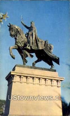 Statue of St. Louis  - Missouri MO Postcard