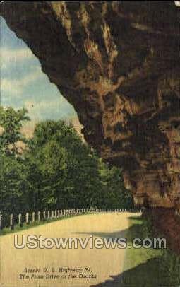 U.S. Highway 71 - Noel, Missouri MO Postcard