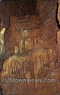 The Elves' Chamber, Marvel Cave - Branson, Missouri MO Postcard