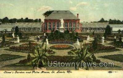 Shaw's Garden & Palm House - St. Louis, Missouri MO Postcard