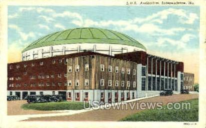 L. D. S. Auditorium - Independence, Missouri MO Postcard