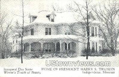 Home of President Truman - Independence, Missouri MO Postcard