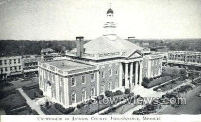 Courthouse of Jackson County - Independence, Missouri MO Postcard