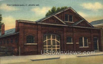 St. Joseph, MO, Missouri Postcard