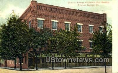 Amusement Company's Building - Excelsior Springs, Missouri MO Postcard