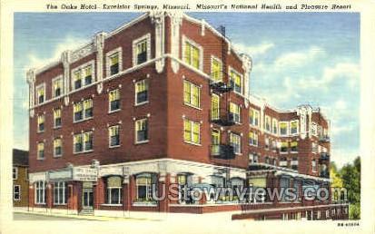 The Oaks Hotel - Excelsior Springs, Missouri MO Postcard