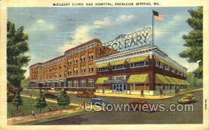 Hospital - Excelsior Springs, Missouri MO Postcard