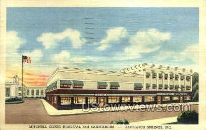 Mitchell Clinic - Excelsior Springs, Missouri MO Postcard