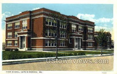 High School - Cape Girardeau, Missouri MO Postcard
