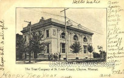 The Trust Company - St. Louis, Missouri MO Postcard