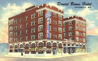 Daniel Boone Hotel - Columbia, Missouri MO Postcard
