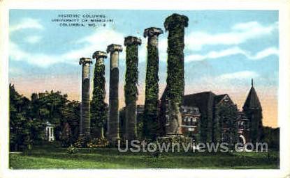 Univ. of Missouri - Columbia Postcard