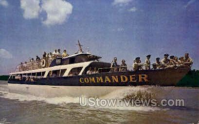 Commander - Lake of the Ozarks, Missouri MO Postcard