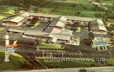 Albert Pick Motel - St. Louis, Missouri MO Postcard