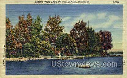 View Lake of the Ozarks - Missouri MO Postcard