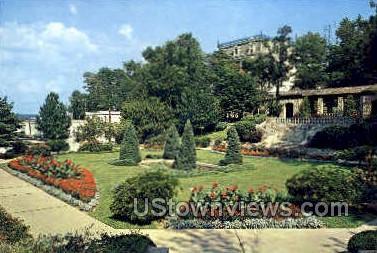Governor's Sunken Garden - Jefferson City, Missouri MO Postcard