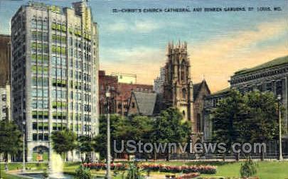 Christ's Church Cathedral - St. Louis, Missouri MO Postcard