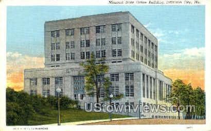 State Office Building - Jefferson City, Missouri MO Postcard
