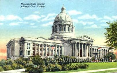 Jefferson City, MO, Missouri Postcard