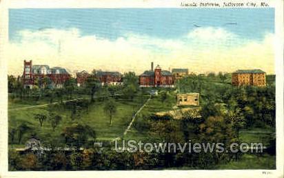 Lincoln Institute - Jefferson City, Missouri MO Postcard