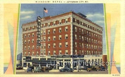 Missouri - Jefferson City Postcard