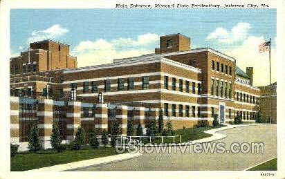 State Penitentiary - Jefferson City, Missouri MO Postcard