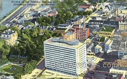 Jefferson Building - Jefferson City, Missouri MO Postcard