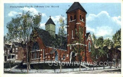 Presbyterian Church - Jefferson City, Missouri MO Postcard