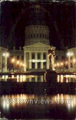 St. Louis' Old Courthouse - Missouri MO Postcard