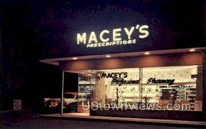 Macey's Prescriptions - St. Louis, Missouri MO Postcard