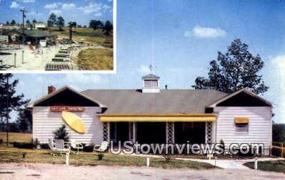 Public Taneycomo Country Club - Branson, Missouri MO Postcard