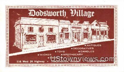 Dodsworth Village - Independence, Missouri MO Postcard