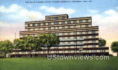 Ellis Fischel State Cancer Hospital - Columbia, Missouri MO Postcard