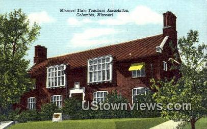 Missouri State Teachers Assoc. - Columbia Postcard