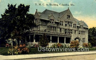 YMCA Bldg - Columbia, Missouri MO Postcard